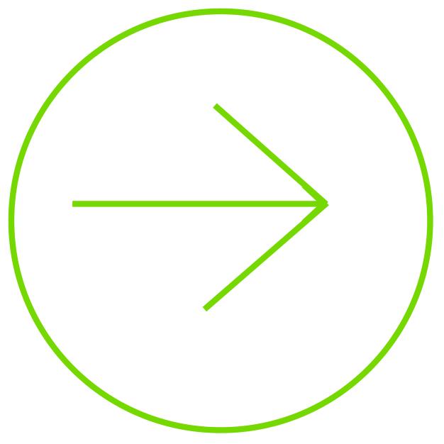 pijl hyperlink groen